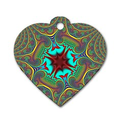 Hot Hot Summer A Dog Tag Heart (One Side)