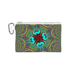 Hot Hot Summer A Canvas Cosmetic Bag (S)
