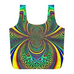 Hot Hot Summer B Full Print Recycle Bags (L)