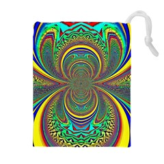 Hot Hot Summer B Drawstring Pouches (Extra Large)