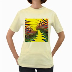 Hot Hot Summer C Women s Yellow T-Shirt