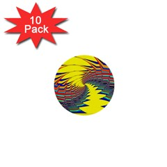 Hot Hot Summer C 1  Mini Buttons (10 pack)