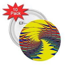 Hot Hot Summer C 2.25  Buttons (10 pack)