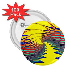 Hot Hot Summer C 2 25  Buttons (100 Pack)