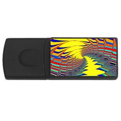 Hot Hot Summer C USB Flash Drive Rectangular (2 GB)