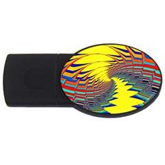 Hot Hot Summer C USB Flash Drive Oval (4 GB)
