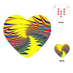Hot Hot Summer C Playing Cards (heart)