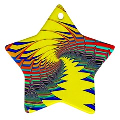 Hot Hot Summer C Star Ornament (Two Sides)