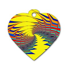 Hot Hot Summer C Dog Tag Heart (Two Sides)