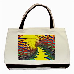 Hot Hot Summer C Basic Tote Bag (Two Sides)