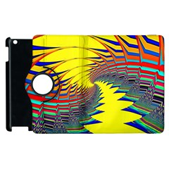 Hot Hot Summer C Apple iPad 2 Flip 360 Case