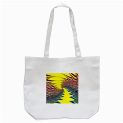 Hot Hot Summer C Tote Bag (White)