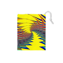 Hot Hot Summer C Drawstring Pouches (Small)