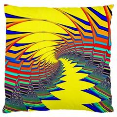 Hot Hot Summer C Large Flano Cushion Case (One Side)