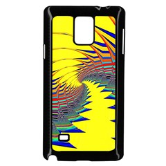 Hot Hot Summer C Samsung Galaxy Note 4 Case (Black)