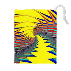 Hot Hot Summer C Drawstring Pouches (Extra Large)