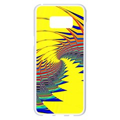 Hot Hot Summer C Samsung Galaxy S8 Plus White Seamless Case