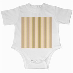 Stripes Pink and Green  line pattern Infant Creepers