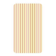 Stripes Pink And Green  Line Pattern Memory Card Reader