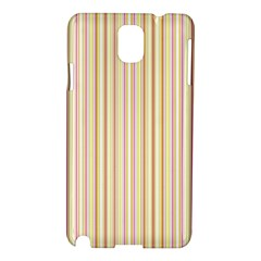 Stripes Pink And Green  Line Pattern Samsung Galaxy Note 3 N9005 Hardshell Case