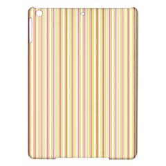 Stripes Pink And Green  Line Pattern Ipad Air Hardshell Cases