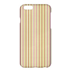 Stripes Pink and Green  line pattern Apple iPhone 6 Plus/6S Plus Hardshell Case