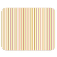 Stripes Pink and Green  line pattern Double Sided Flano Blanket (Medium)