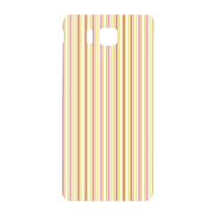 Stripes Pink And Green  Line Pattern Samsung Galaxy Alpha Hardshell Back Case