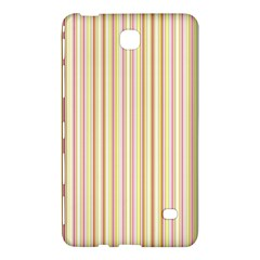 Stripes Pink and Green  line pattern Samsung Galaxy Tab 4 (8 ) Hardshell Case