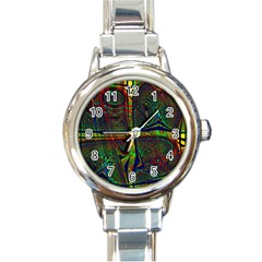 Hot Hot Summer D Round Italian Charm Watch