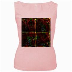 Hot Hot Summer D Women s Pink Tank Top