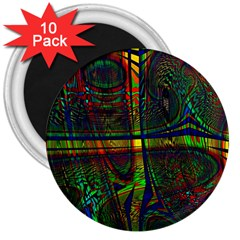 Hot Hot Summer D 3  Magnets (10 pack)