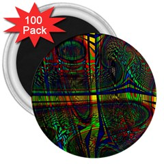 Hot Hot Summer D 3  Magnets (100 pack)