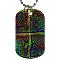 Hot Hot Summer D Dog Tag (One Side)