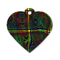 Hot Hot Summer D Dog Tag Heart (Two Sides)