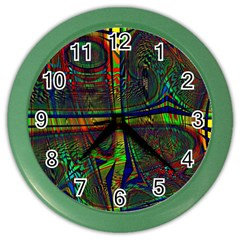 Hot Hot Summer D Color Wall Clocks