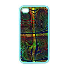 Hot Hot Summer D Apple Iphone 4 Case (color)