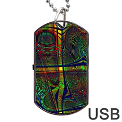 Hot Hot Summer D Dog Tag USB Flash (Two Sides)