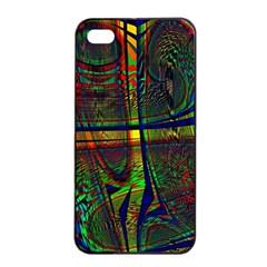Hot Hot Summer D Apple iPhone 4/4s Seamless Case (Black)