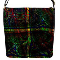 Hot Hot Summer D Flap Messenger Bag (S)