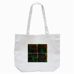 Hot Hot Summer D Tote Bag (White)