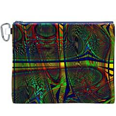 Hot Hot Summer D Canvas Cosmetic Bag (XXXL)