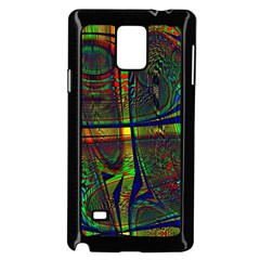 Hot Hot Summer D Samsung Galaxy Note 4 Case (Black)