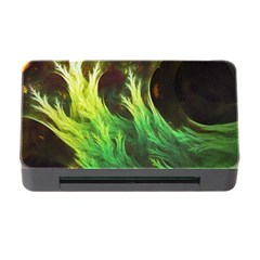 A Seaweed s DeepDream of Faded Fractal Fall Colors Memory Card Reader with CF
