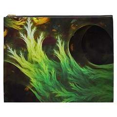 A Seaweed s DeepDream of Faded Fractal Fall Colors Cosmetic Bag (XXXL)