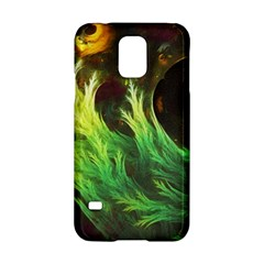 A Seaweed s Deepdream Of Faded Fractal Fall Colors Samsung Galaxy S5 Hardshell Case