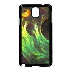 A Seaweed s Deepdream Of Faded Fractal Fall Colors Samsung Galaxy Note 3 Neo Hardshell Case (black)