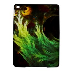 A Seaweed s DeepDream of Faded Fractal Fall Colors iPad Air 2 Hardshell Cases