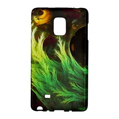 A Seaweed s DeepDream of Faded Fractal Fall Colors Galaxy Note Edge