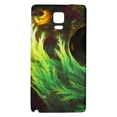 A Seaweed s DeepDream of Faded Fractal Fall Colors Galaxy Note 4 Back Case
